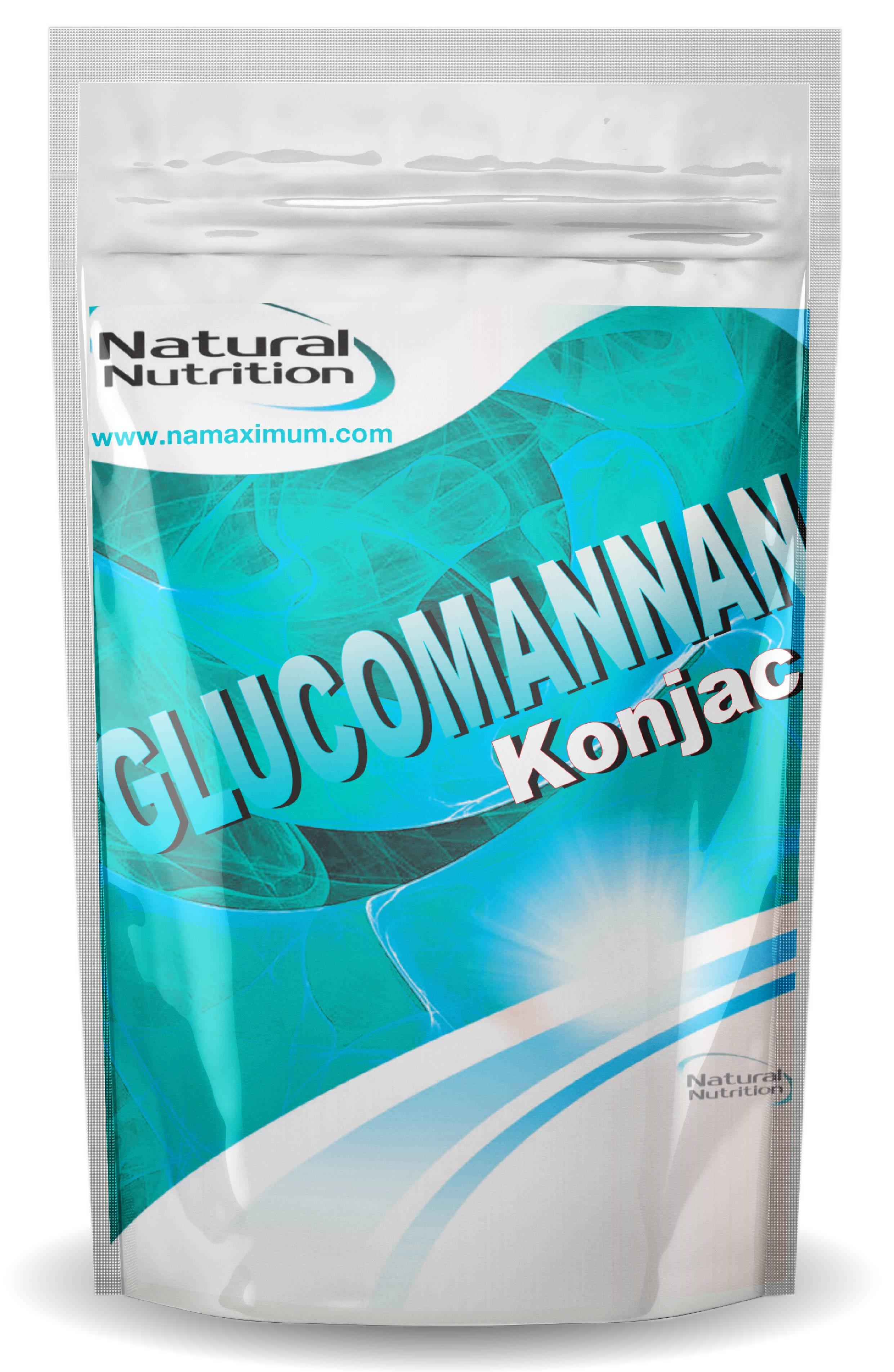 Glucomannan Konjac - Glukomanan Natural 100g