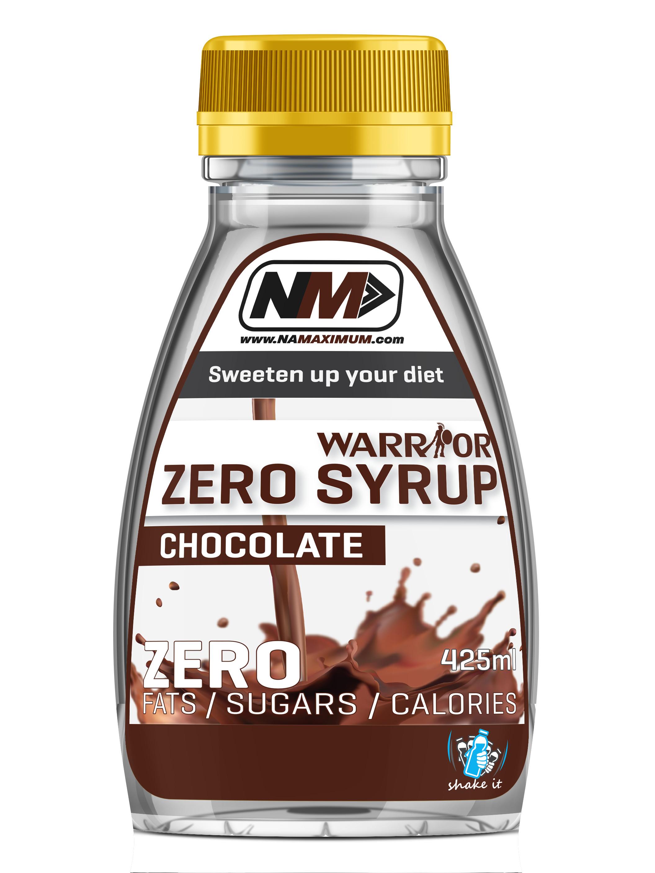 Zero Syrup - bezkalorický sirup Chocolate 425ml