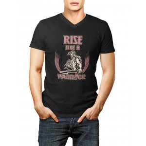 Rise like és Warrior pólók, színes