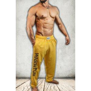 Tepláky Warrior žlté