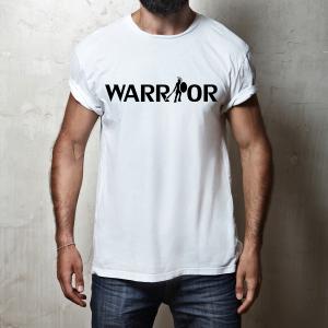 Tričko Warrior biele