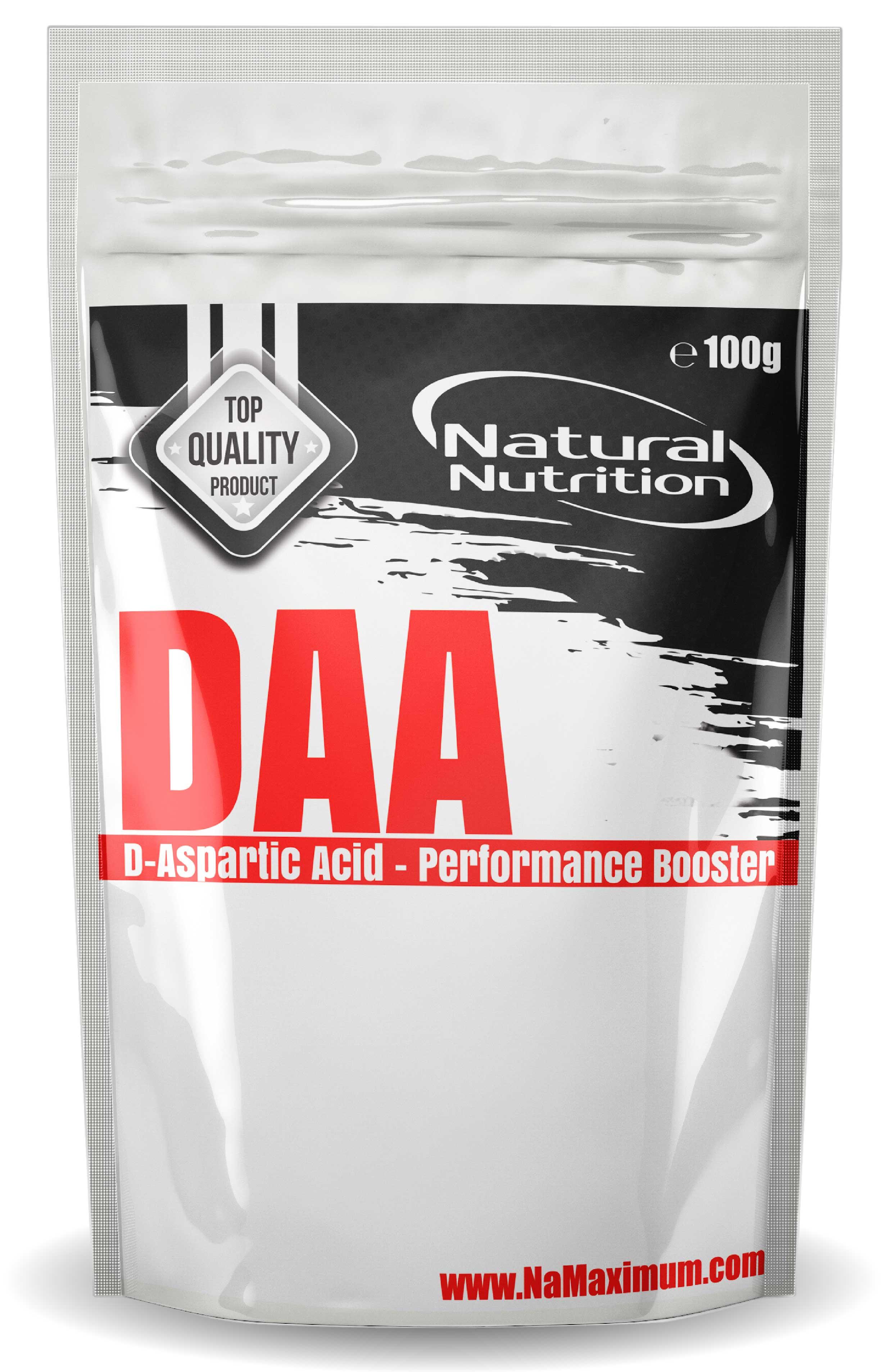 DAA - D-Aspartic Acid Natural 100g