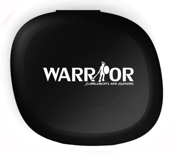 Pill Box Warrior Černá