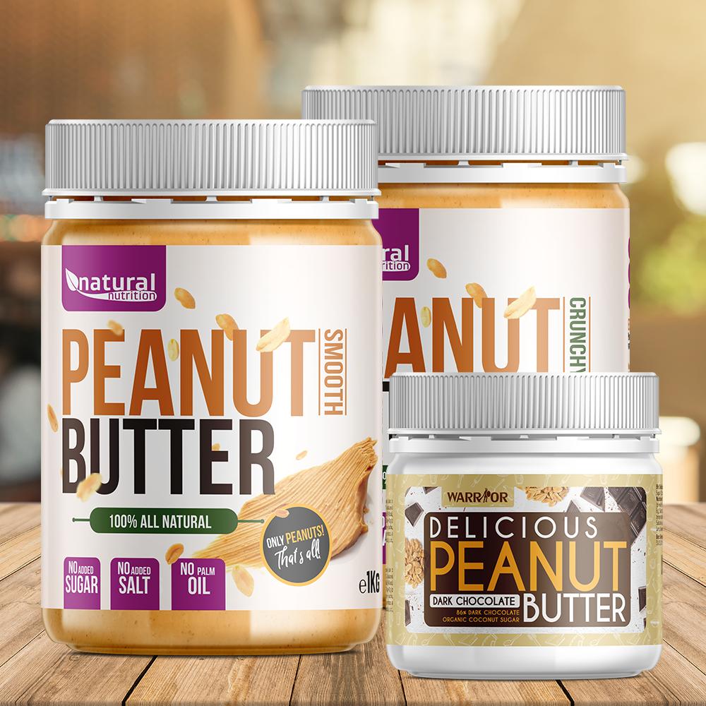 Peanut Butter - Arašidové maslo 500g Christmas Gingerbread