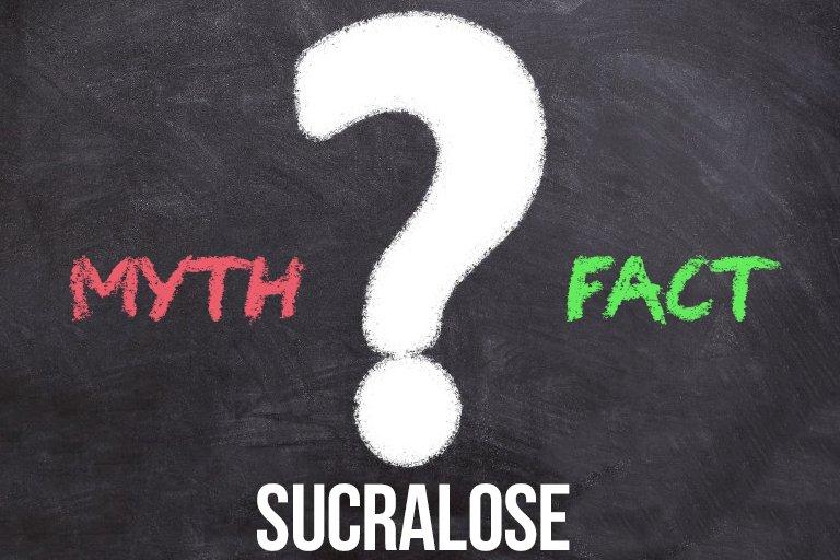 Sukralóza – Mýty vs. Fakty - je naozaj škodlivá?