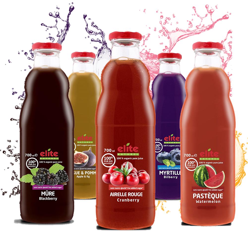 100% Bio ovocná šťava 1000ml Granátové jablko