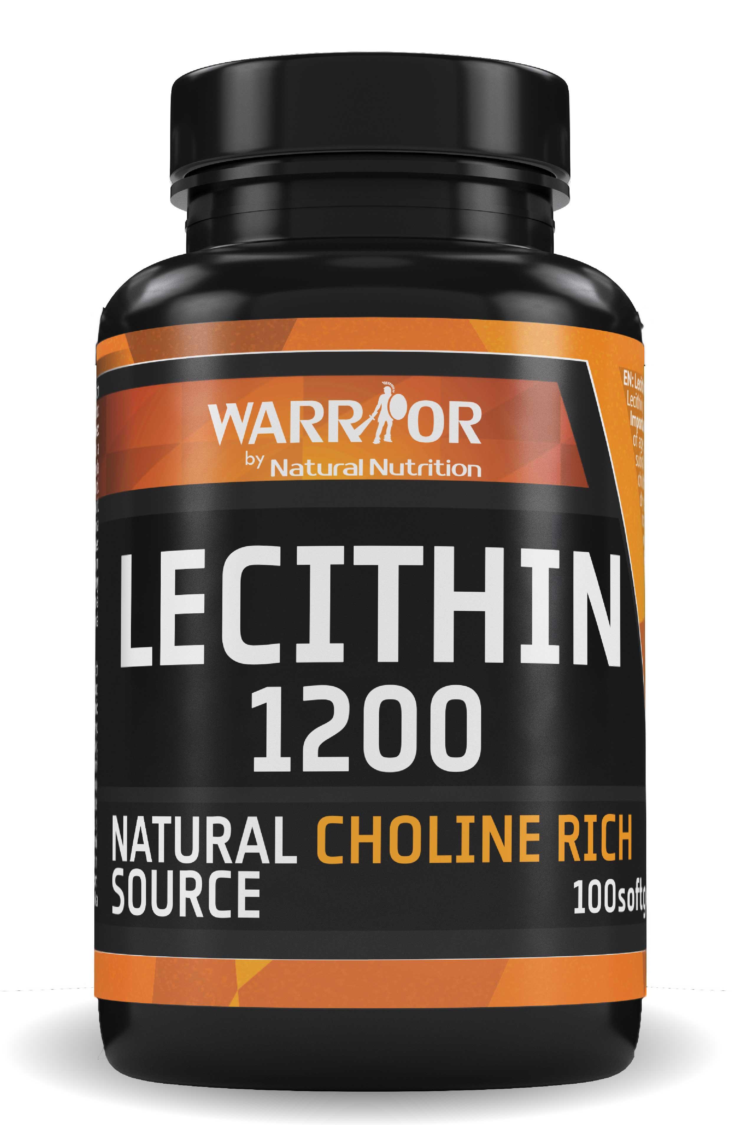 Lecithin 1200 Softgels 100 Softgels