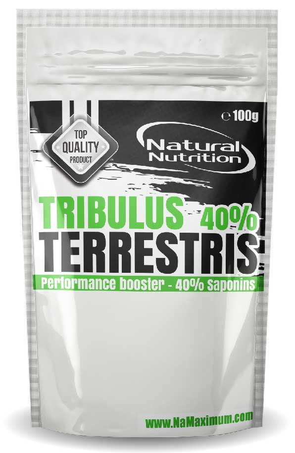 Tribulus Terrestris 40% saponínov Natural 100g
