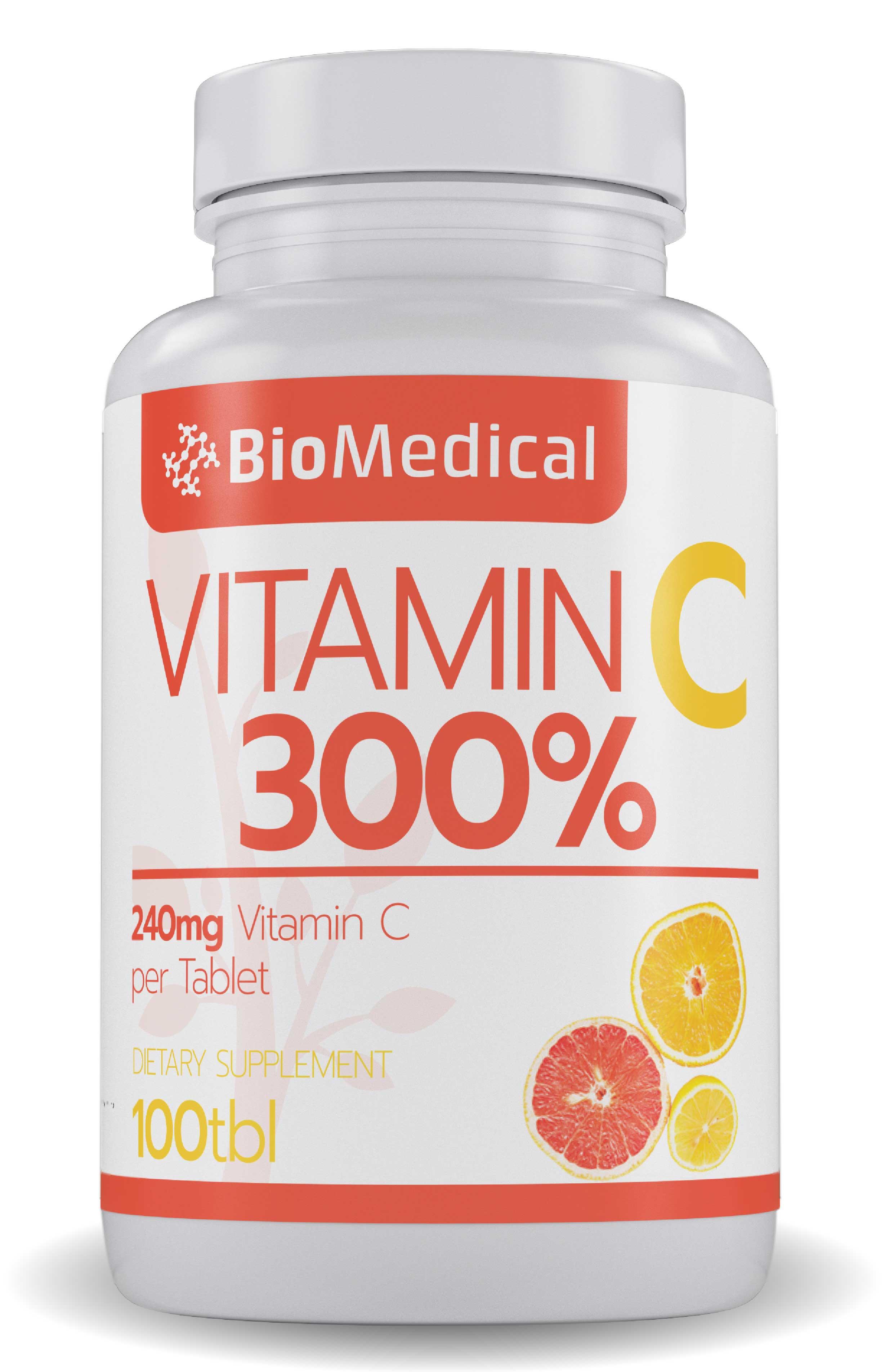 Vitamin C 300% 100 tab