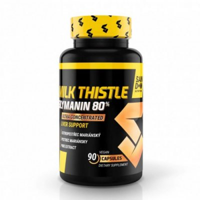 Sandow Milk Thistle extrakt - kapsle