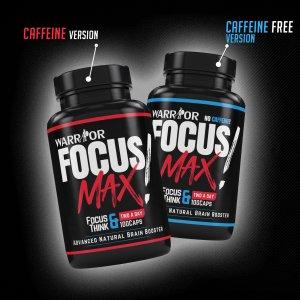 Focus Max - Nootropikum v kapslích