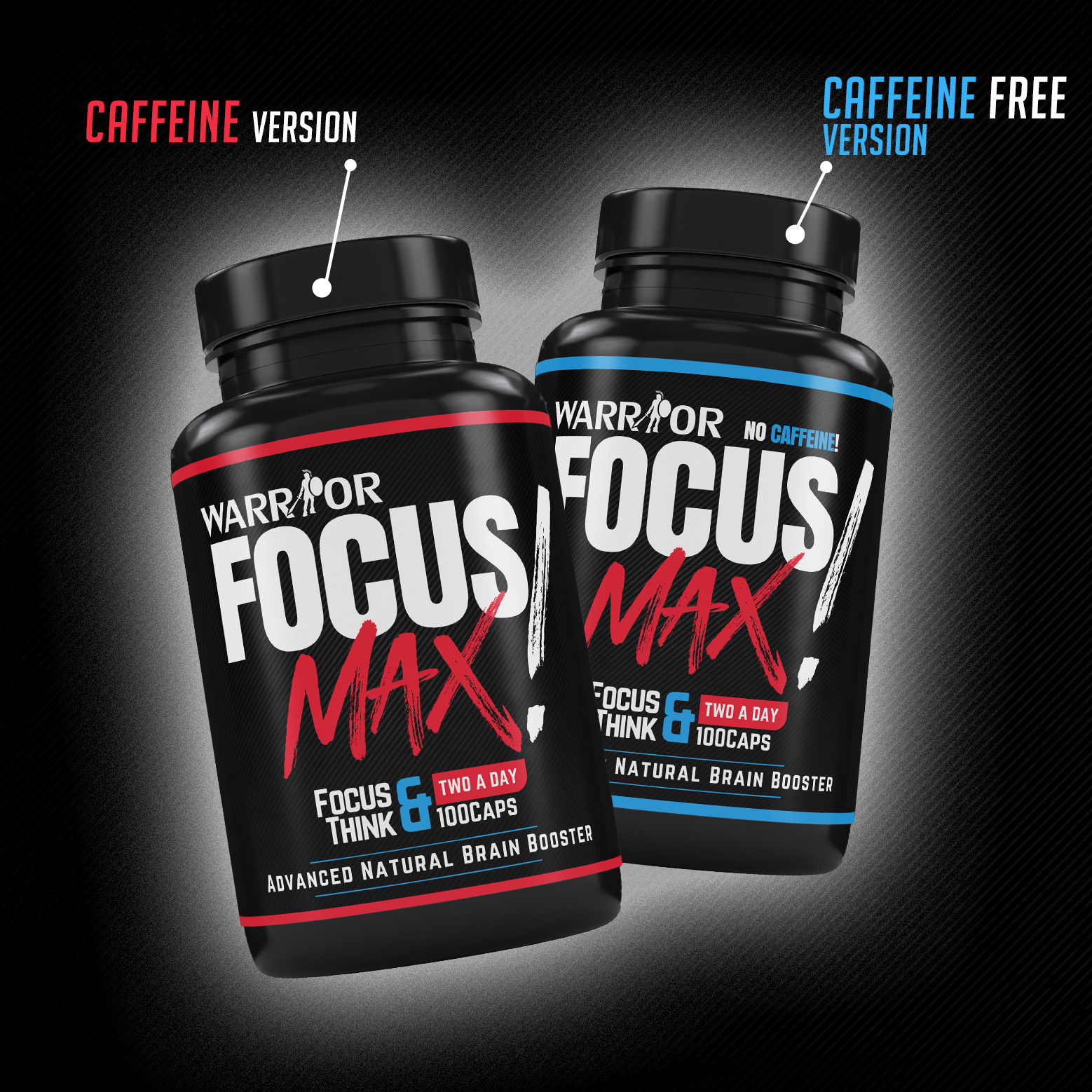 Focus Max – Nootropikum v kapsulách 100 caps s kofeínom