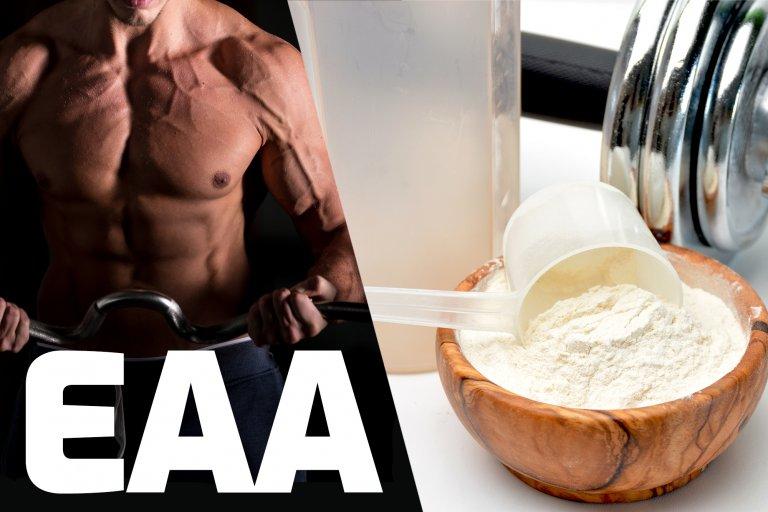 Esenciálne aminokyseliny - EAA alebo BCAA?