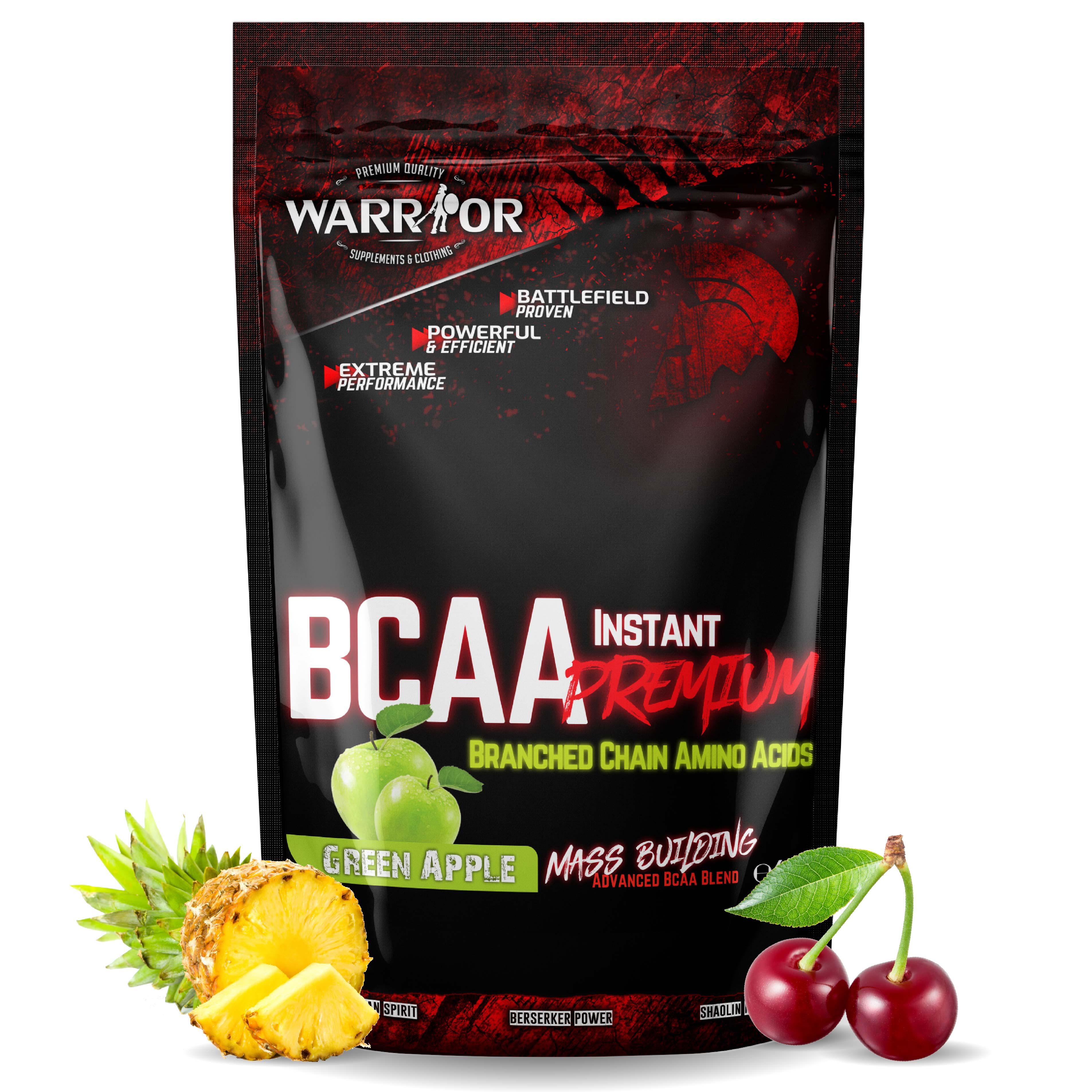 BCAA Instant Premium ochucené Green Apple 100g