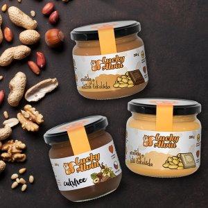 Oříškové másla Lucky Alvin