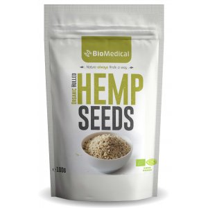Organic Hemp Seeds De-hulled