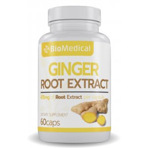 Ginger Root Extract Capsules
