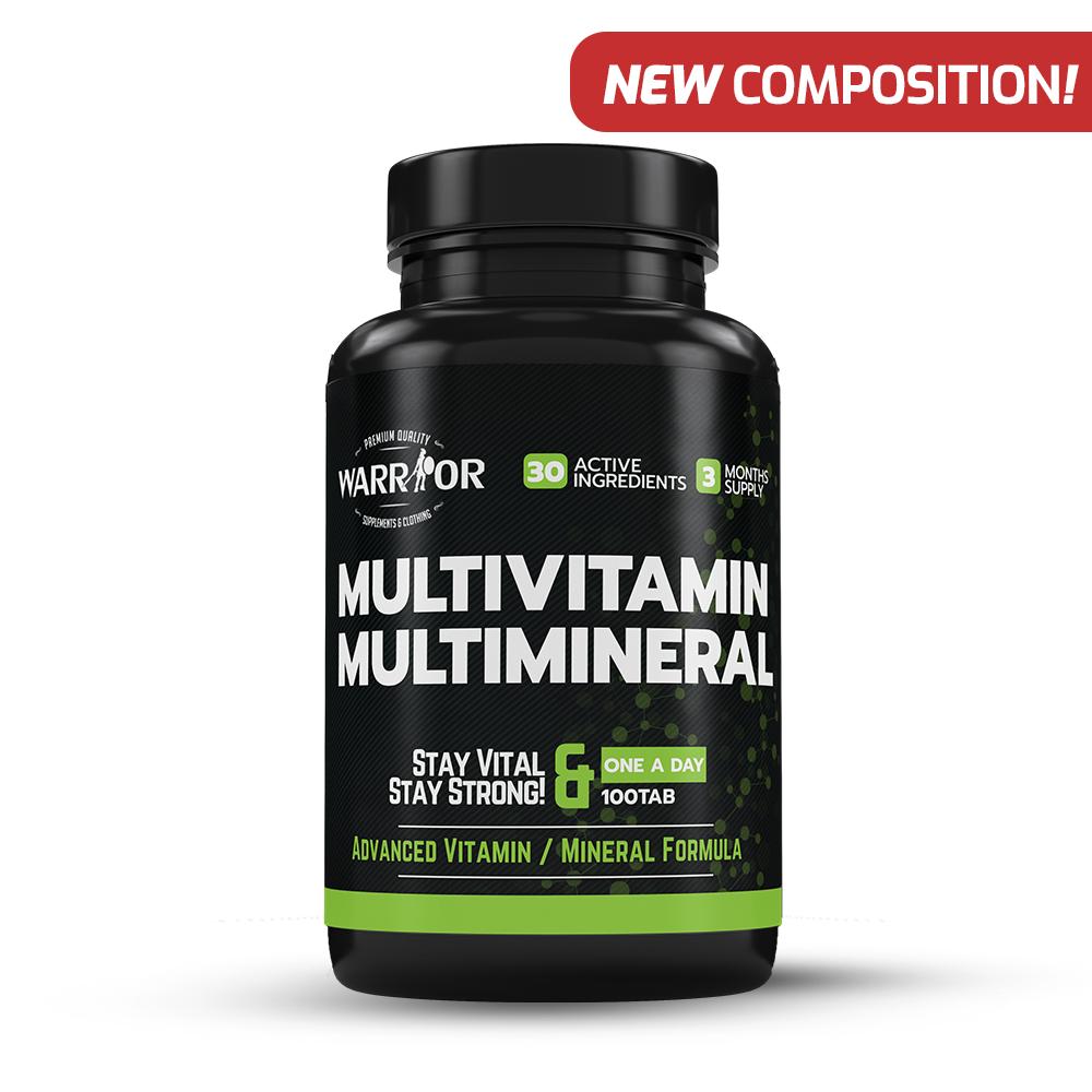 Multivitamin Multiminerál tablety 100 tab