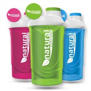 Šejker Natural Nutrition 600ml priehľadný