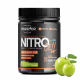 NitroCell - predtréningová zmes Green Apple 600g