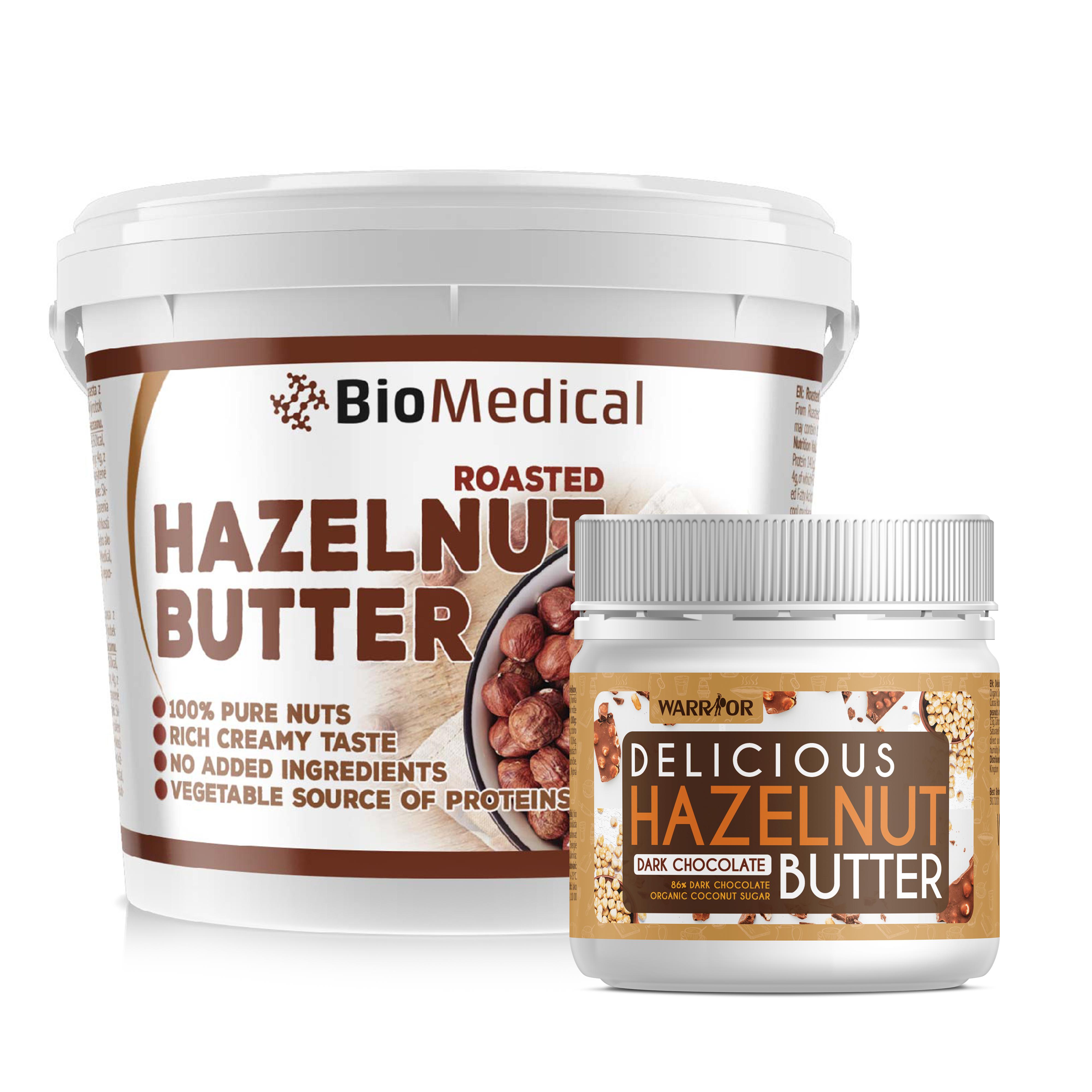 Roasted Hazelnut Butter – maslo z pražených lieskovcov Natural 1kg