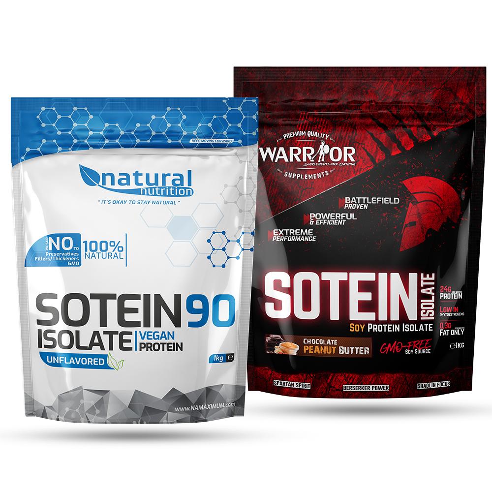 Sotein - sójový proteínový izolát 90% Natural 2,5 kg