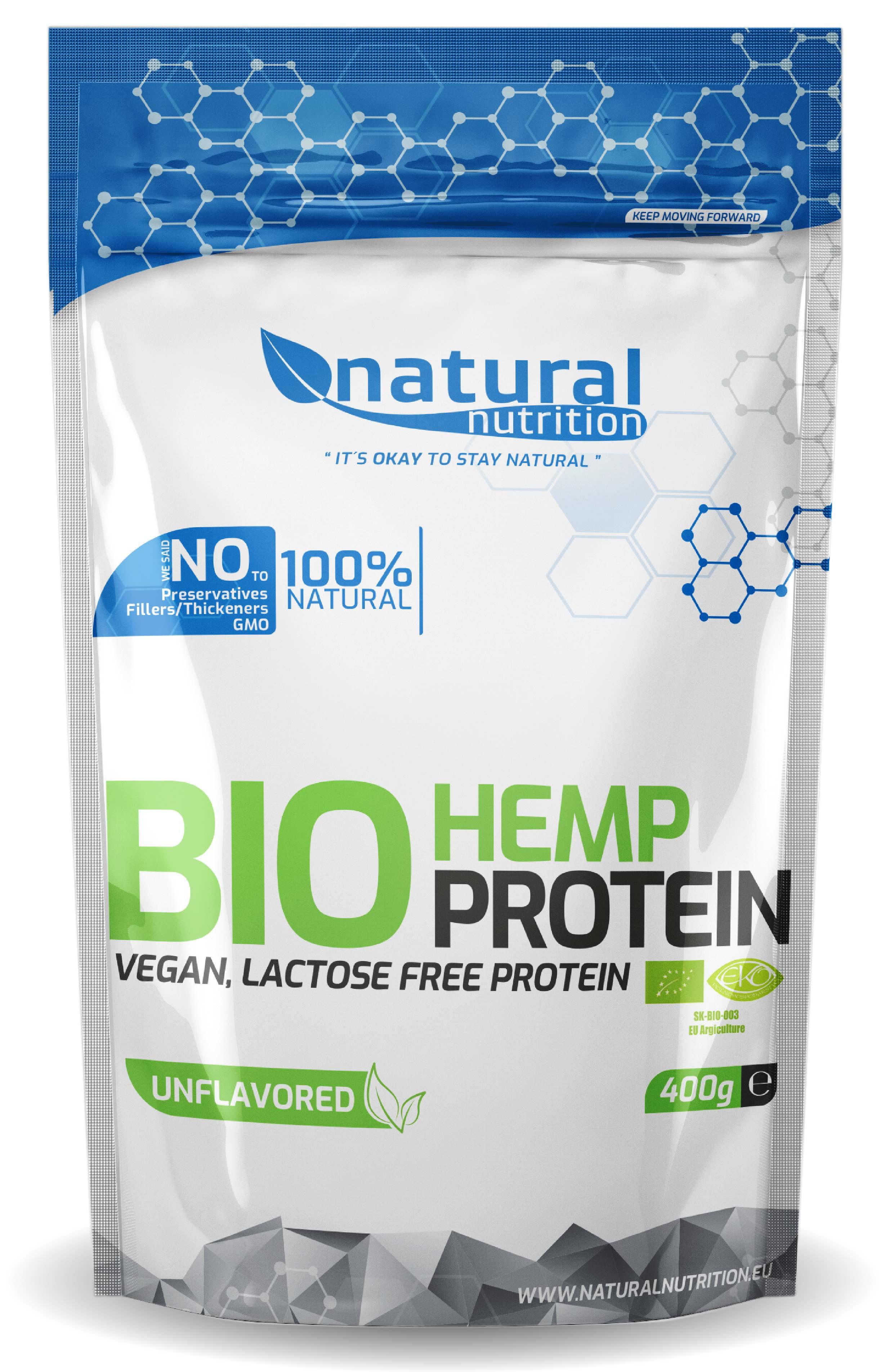 BIO Hemp Protein - Konopný protein Natural 400g