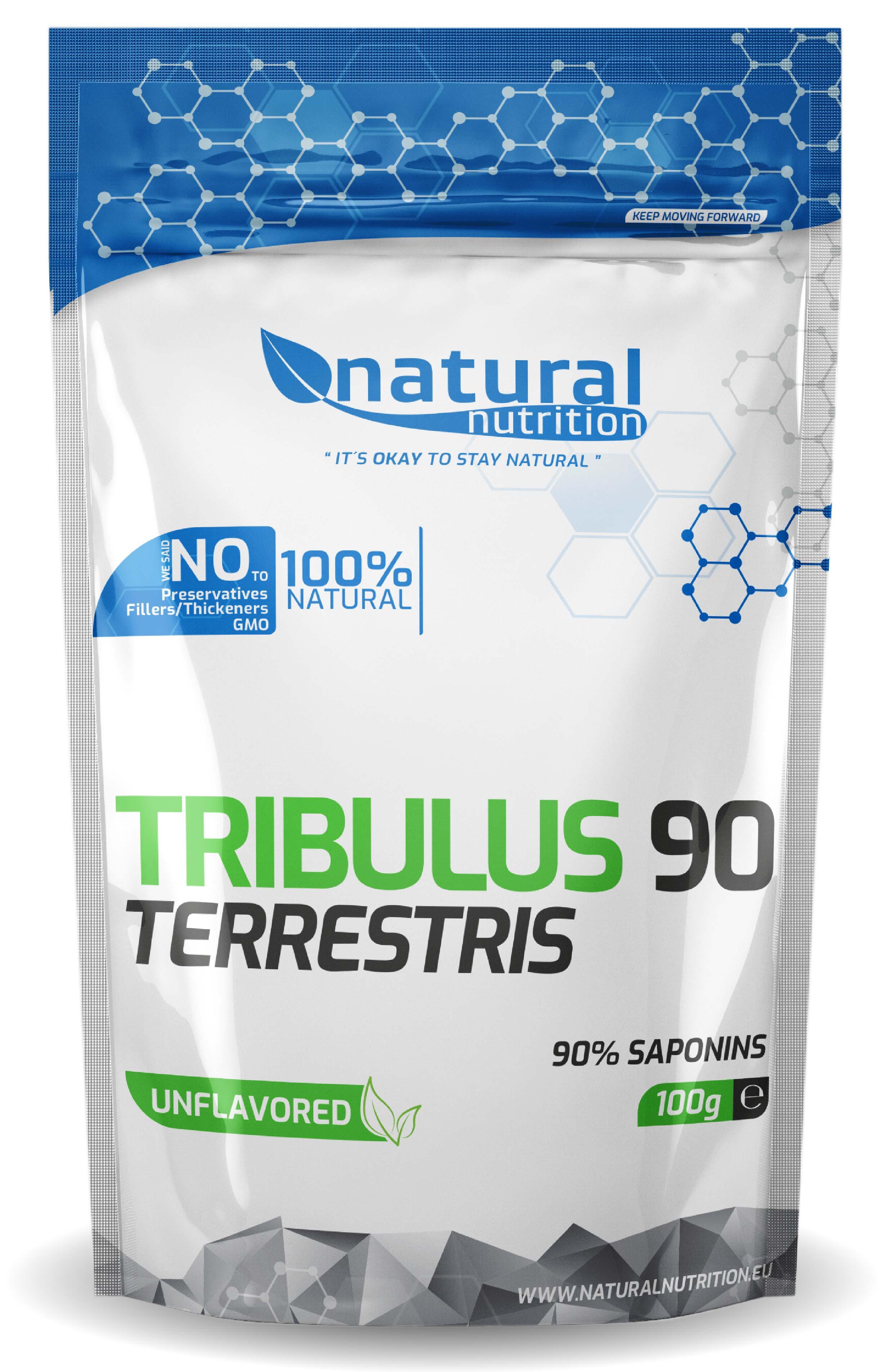 Tribulus Terrestris 90% saponínov Natural 100g