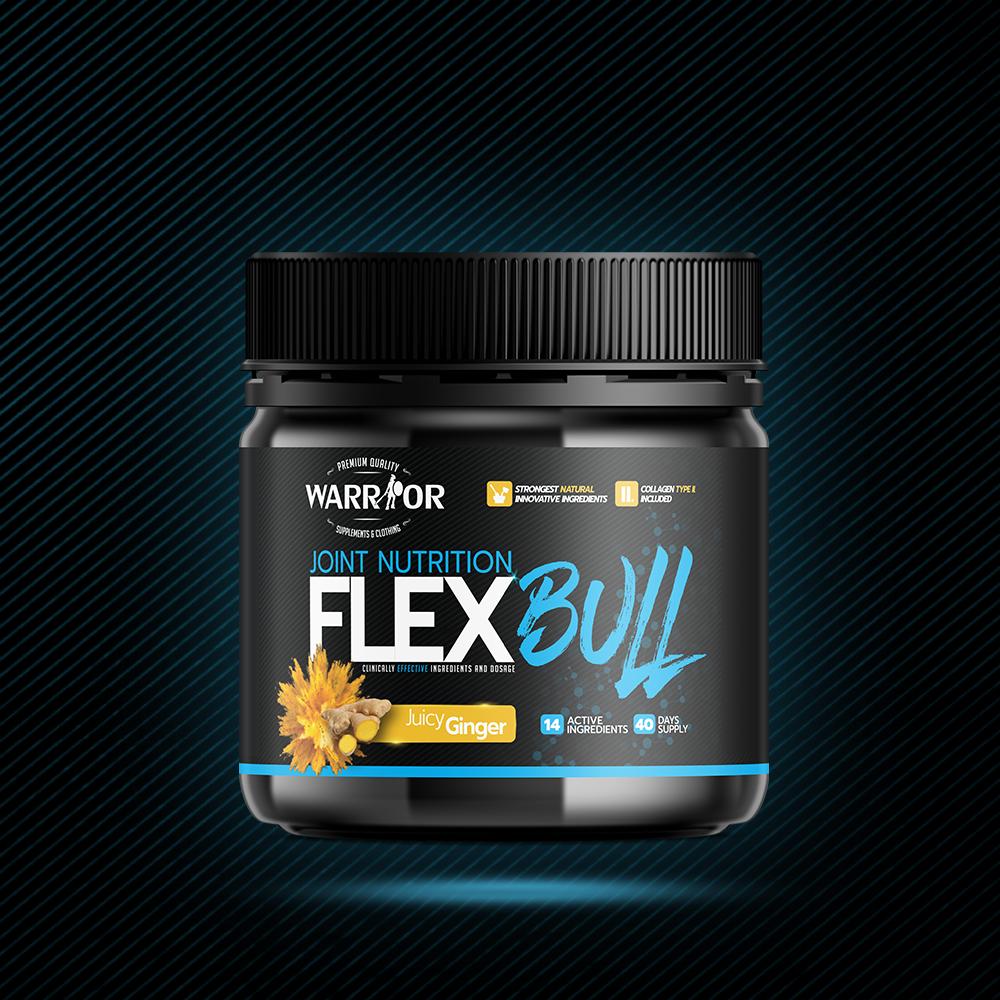 FlexBull – Komplexná kĺbová výživa 300g Juicy Ginger