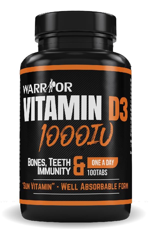 Vitamin D3 1000IU 100 tab