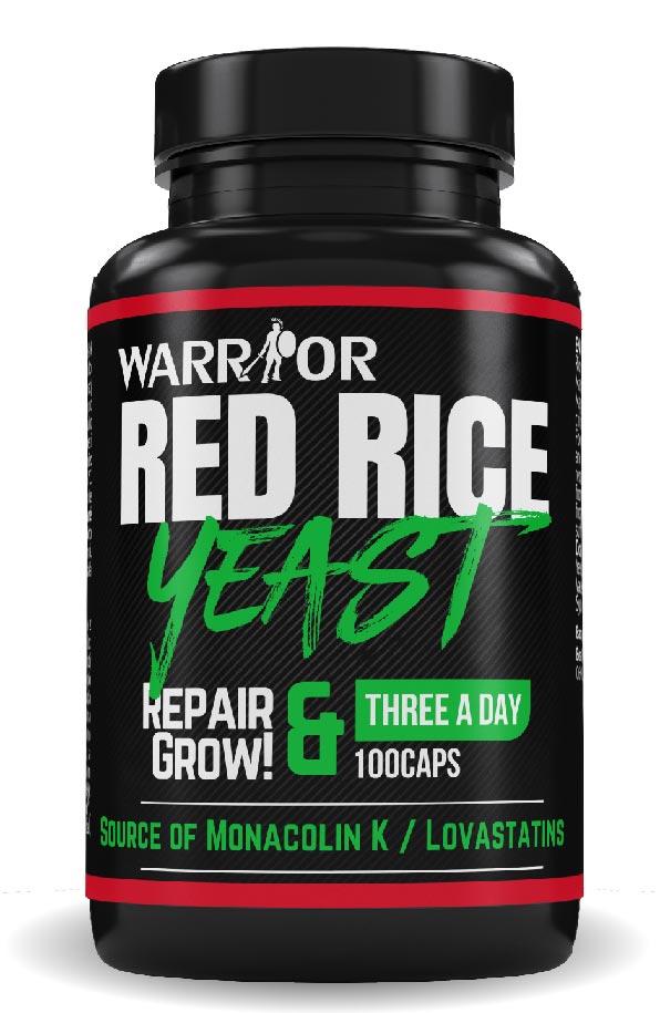 Red Yeast Rice - červená fermentovaná rýže 100 caps