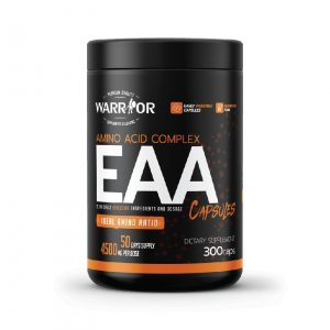 EAA – Esenciálne aminokyseliny v kapsulách