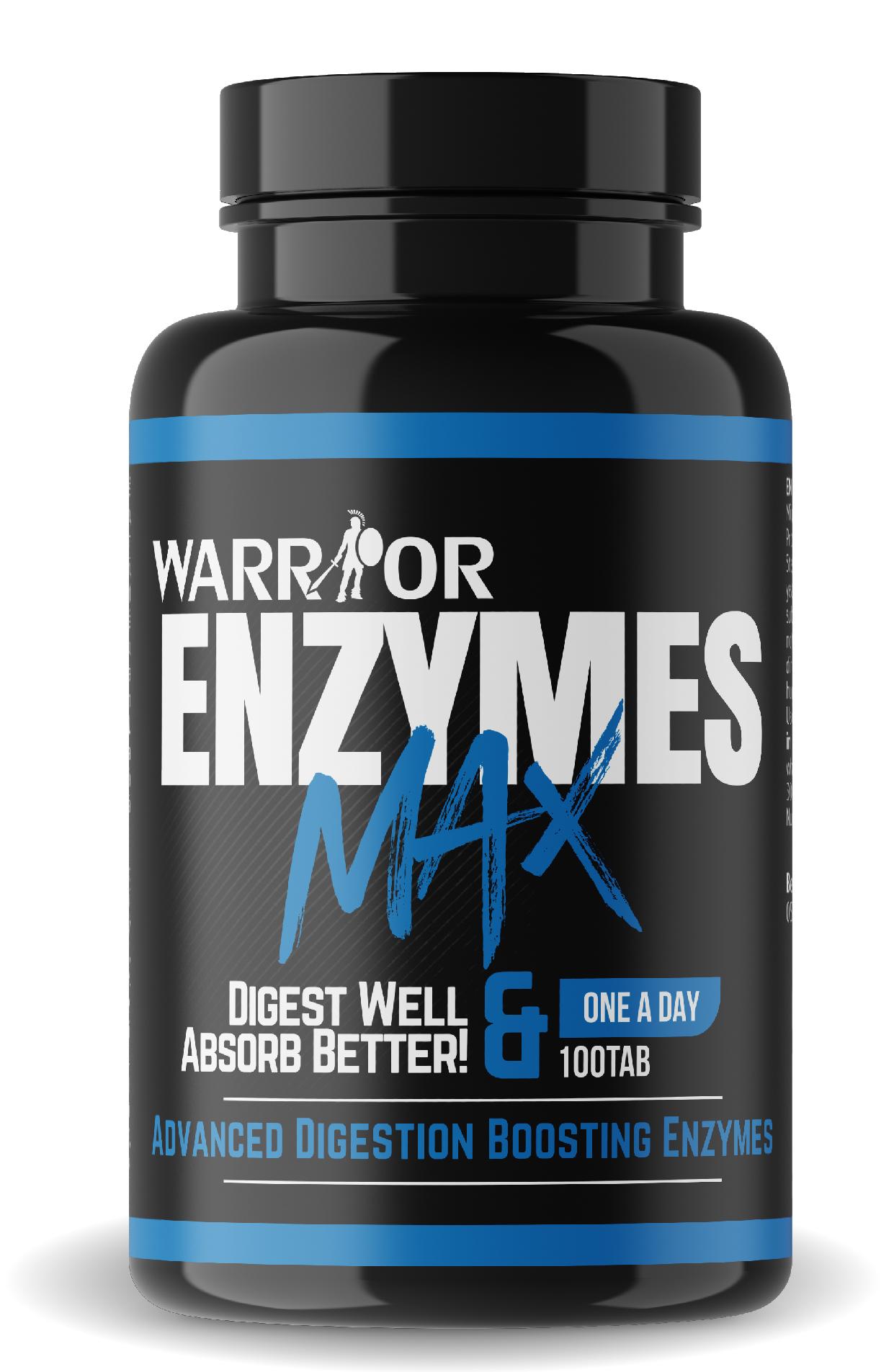 Enzymes Max - tráviace enzýmy 100 tab