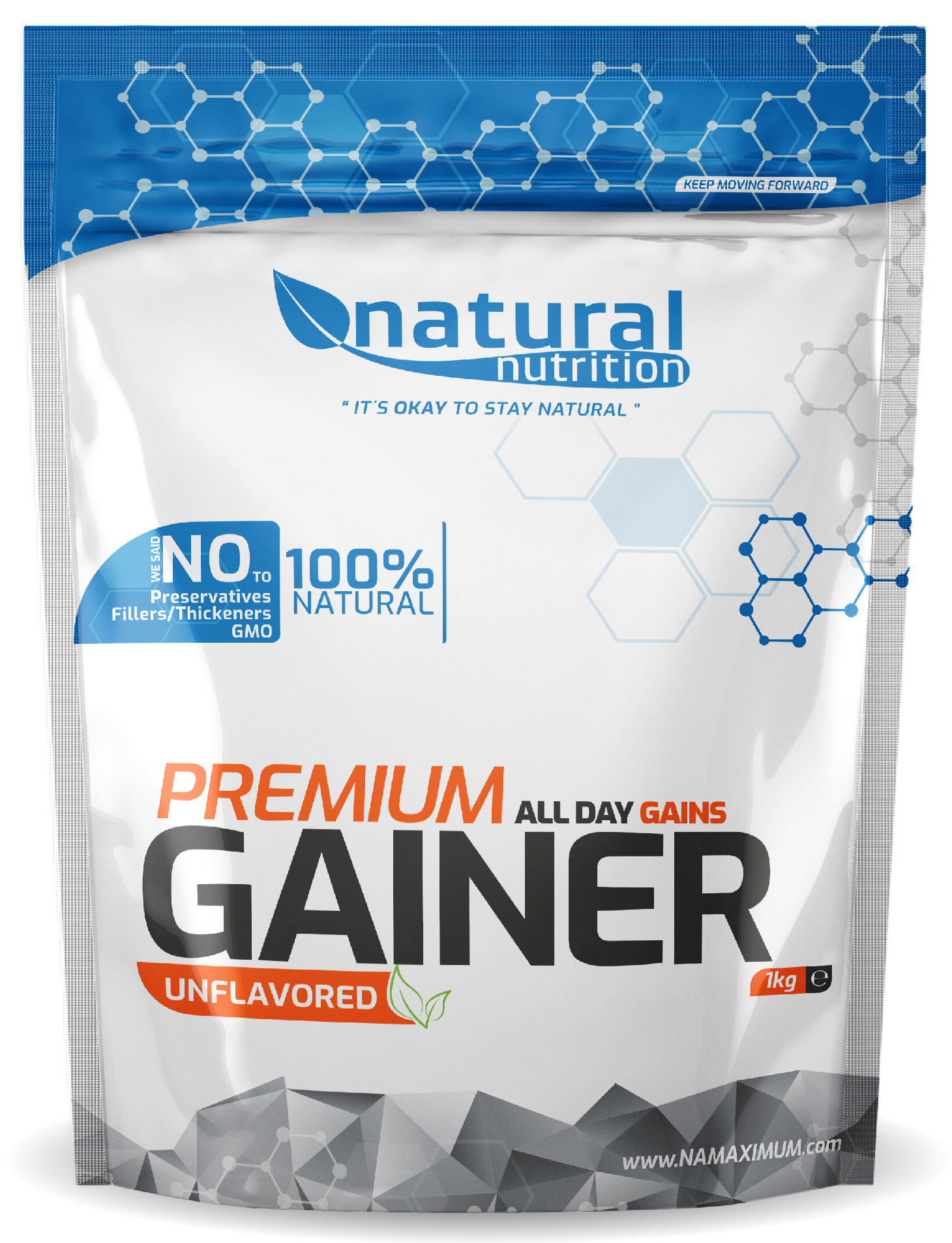 Gainer Premium - Svačinový gainer Natural 1kg