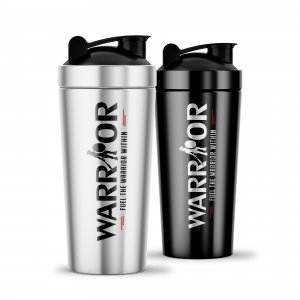 Shaker Warrior Steel 750ml - Ocelový šejkr