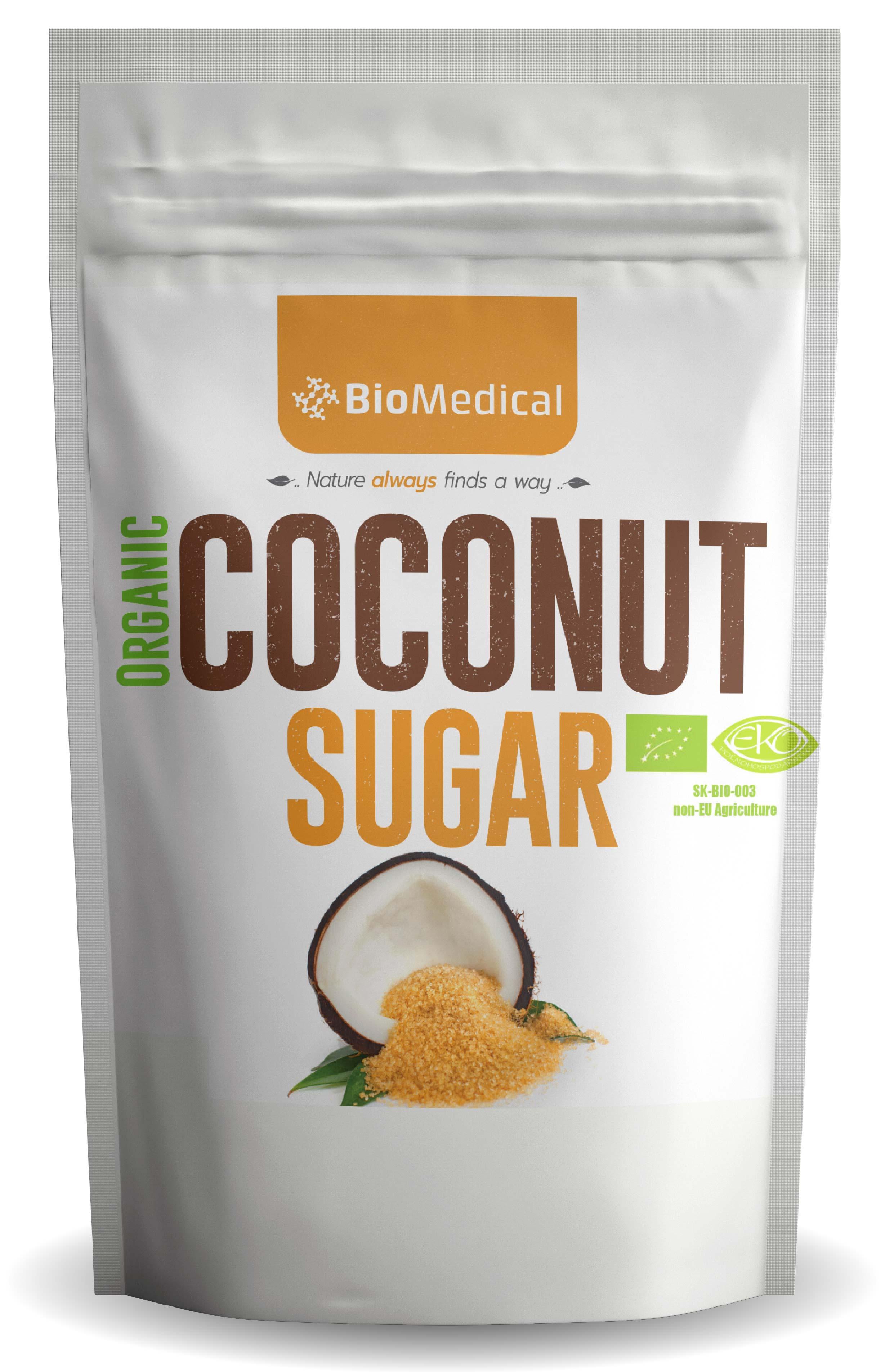 Bio kokosový cukor Natural 500g
