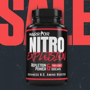 Nitro Explosion – Predtréningová pumpa