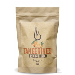 Freeze-dried tangerines