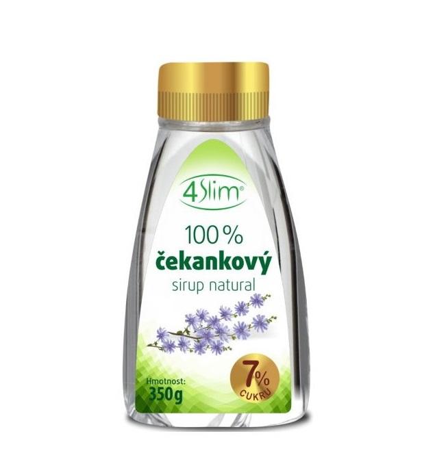 100% Čekankový sirup Natural 350g