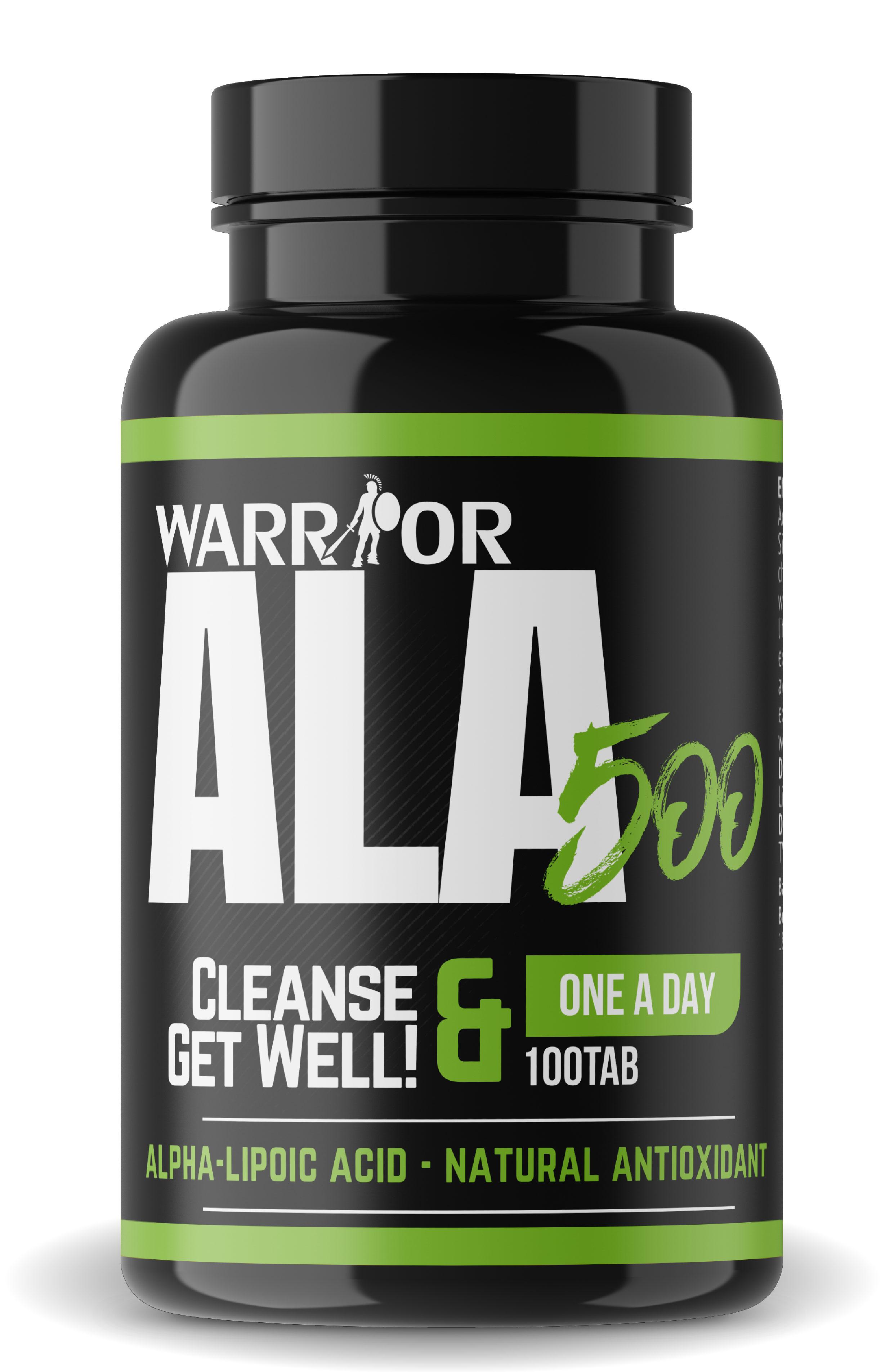 ALA 500 - kyselina alfa-lipoová 100 tab