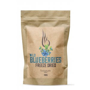 Freeze-dried wild blueberries