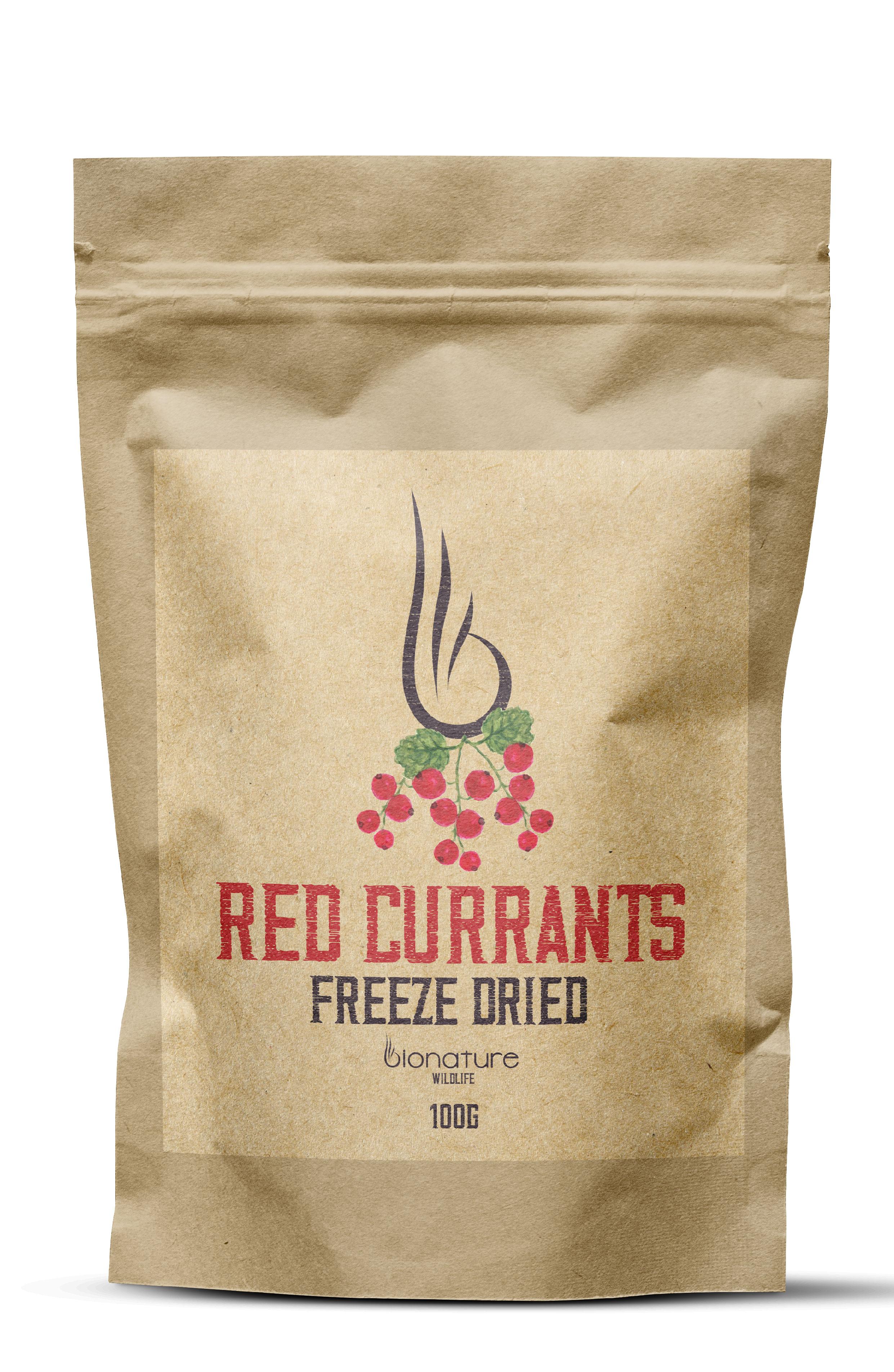 Mrazom sušené červené ríbezle 100g