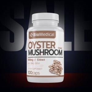 Oyster Mushroom Extract - extrakt z Hlívy ústřičné