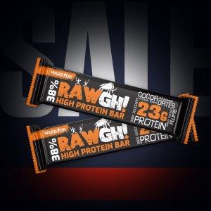 RawGh! - proteínová tyčinka 38%