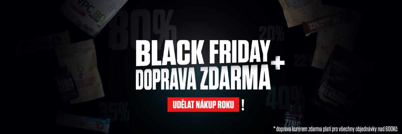 Black Friday doprava zdarma