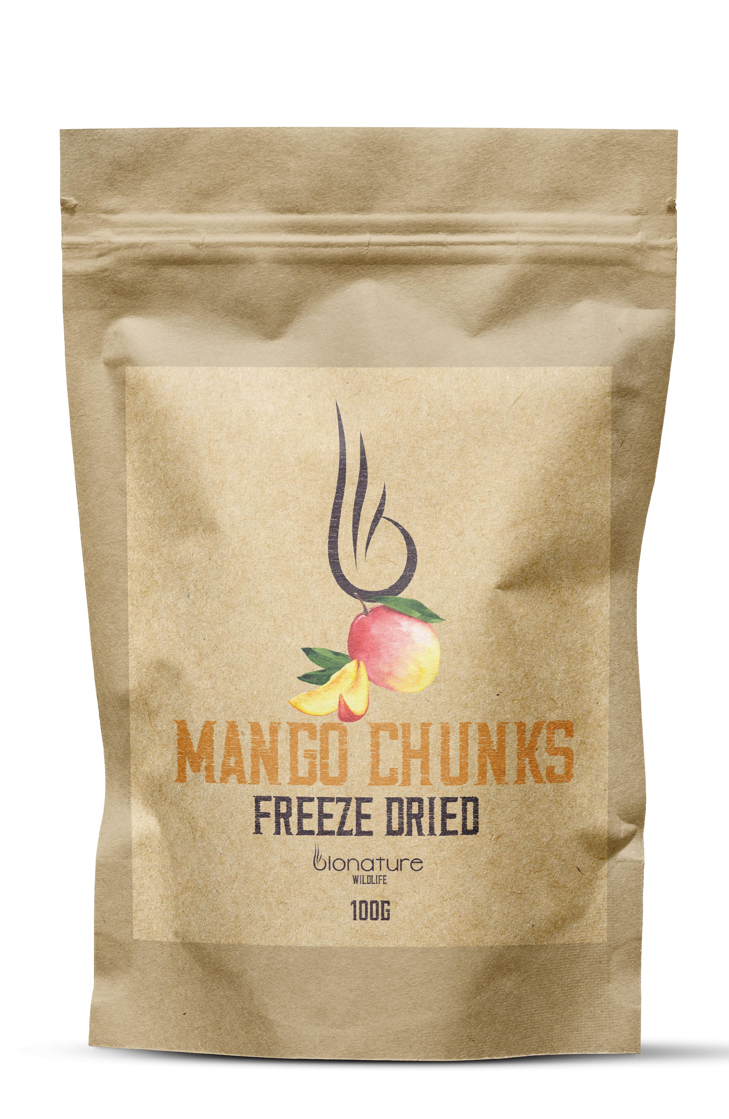 Mrazem sušené mango 100g