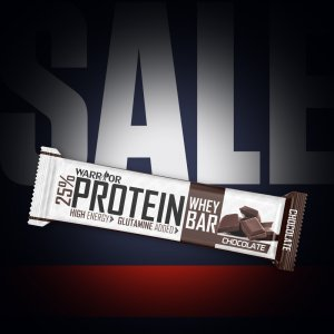 Warrior Energy Protein Bar - proteinová tyčinka