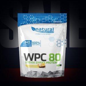 WPC 80 Stevia Sweet - syrovátkový whey protein