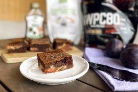 Fit kakaovo - švestková buchta nabitá bílkovinami