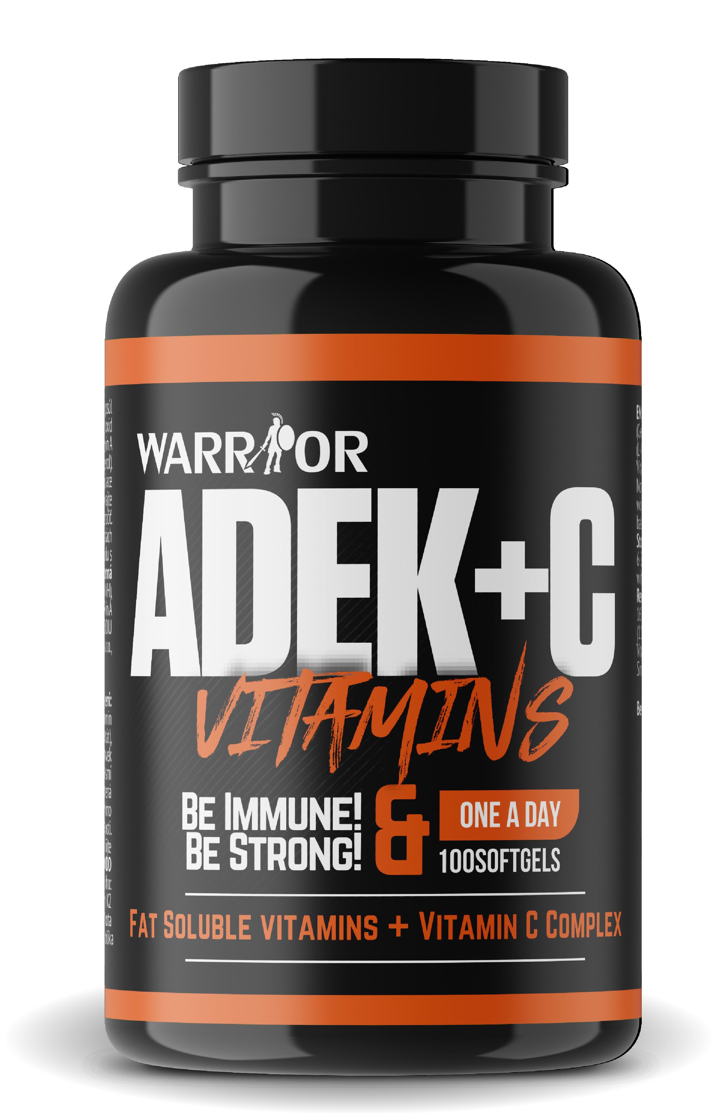 ADEK+C komplex vitamínov 100 Softgels